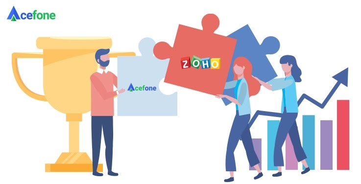Acefone + Zoho CRM Integration