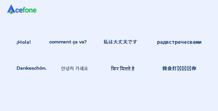 Understanding Different Languages