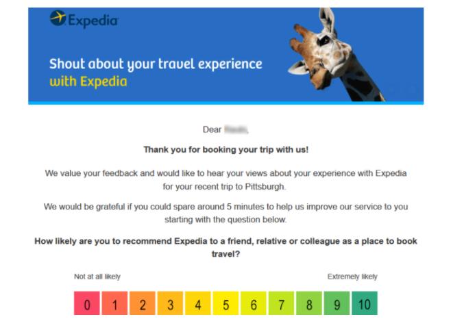 Expedia Customer Survey