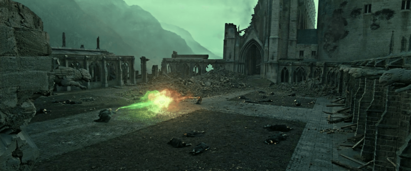 Harry and Lord Volemort Final Battle