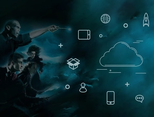 Harry Potter In The Land Of Cloud Communication