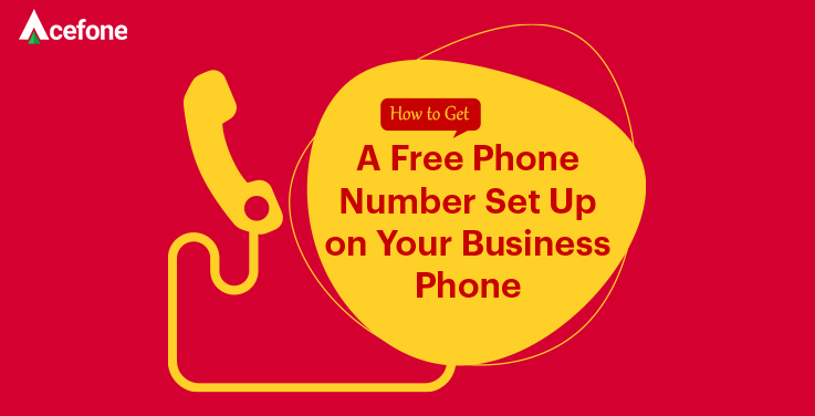 Steps To Get Free Phone Number Infographic