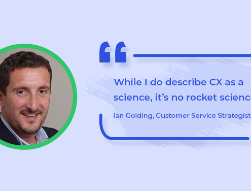 Customer Service Interview With Ian Golding