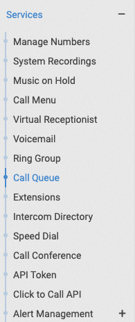 Check Categories For Services