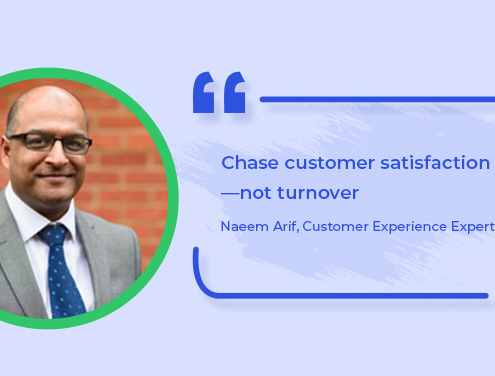 CX Expert Naeem Arif Offers Tips on How to Ace Customer Service