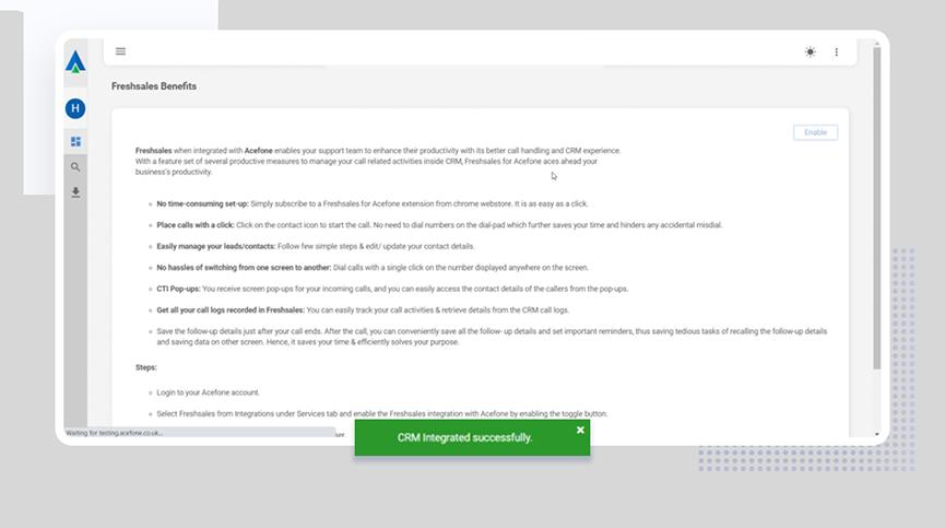 Authorizing Salesforce Account